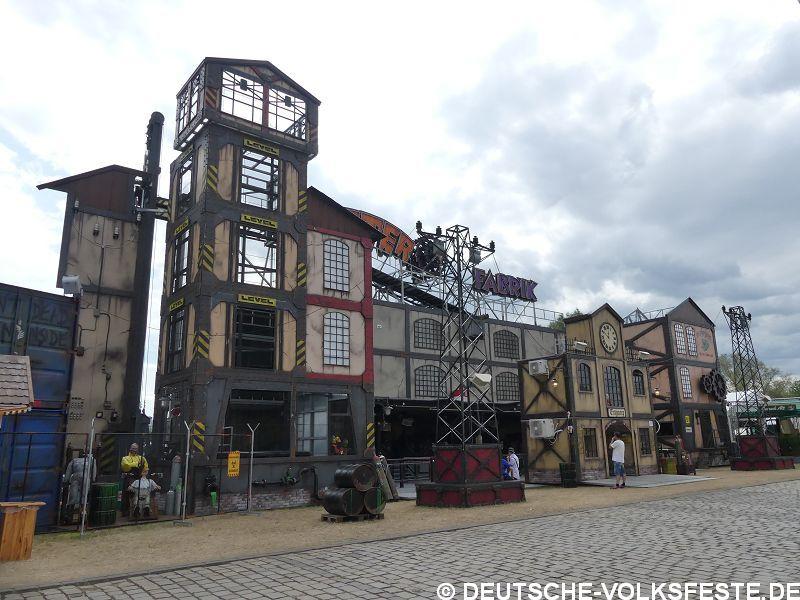 Düsseldorf Größte Kirmes am Rhein 2019