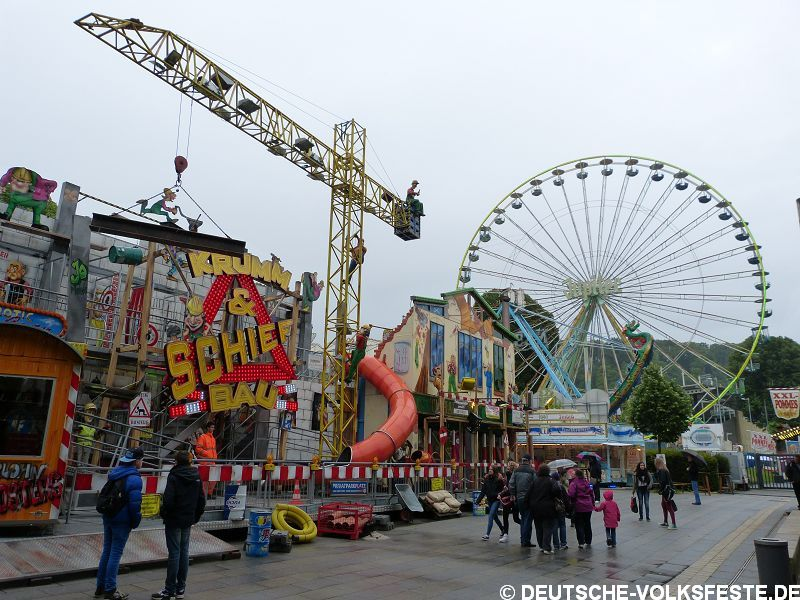 Wuppertal Mega-Kirmes 2014