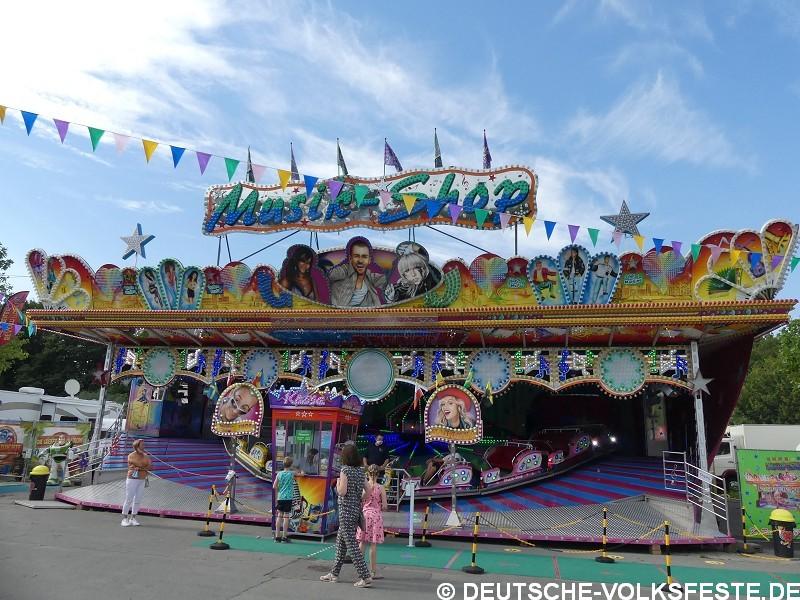 Bielefeld Pop Up Kirmes-Freizeitpark BIEhappy 2020