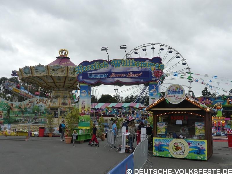 Düren Pop Up Freizeitpark Dürener Sommer 2020