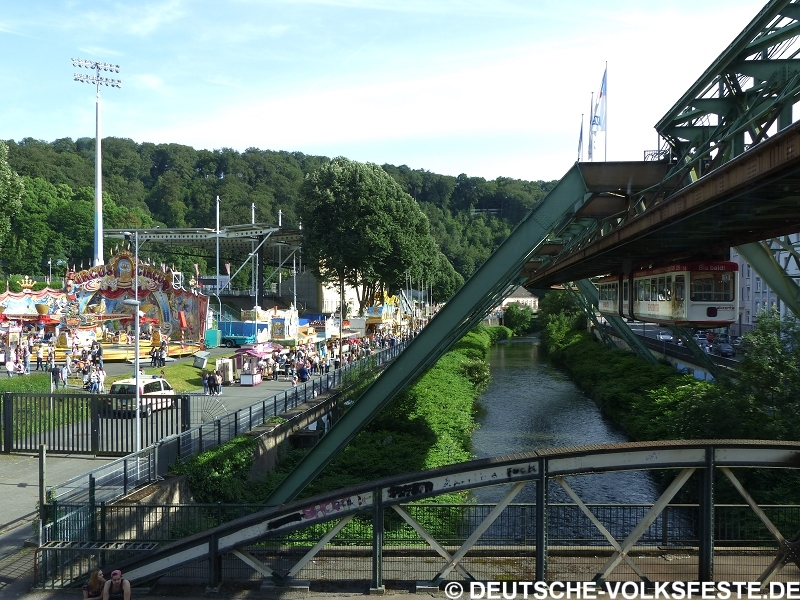 Wuppertal Mega Kirmes 2016