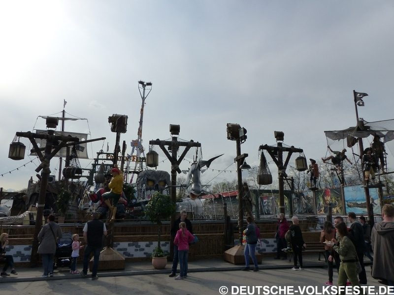 Recklinghausen Palmkirmes 2017