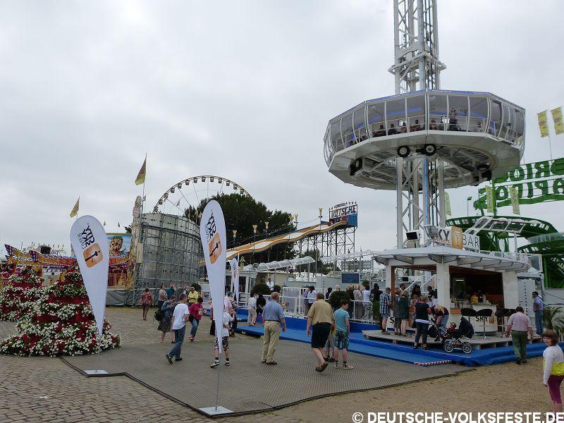 Düsseldorf Größte Kirmes am Rhein 2013