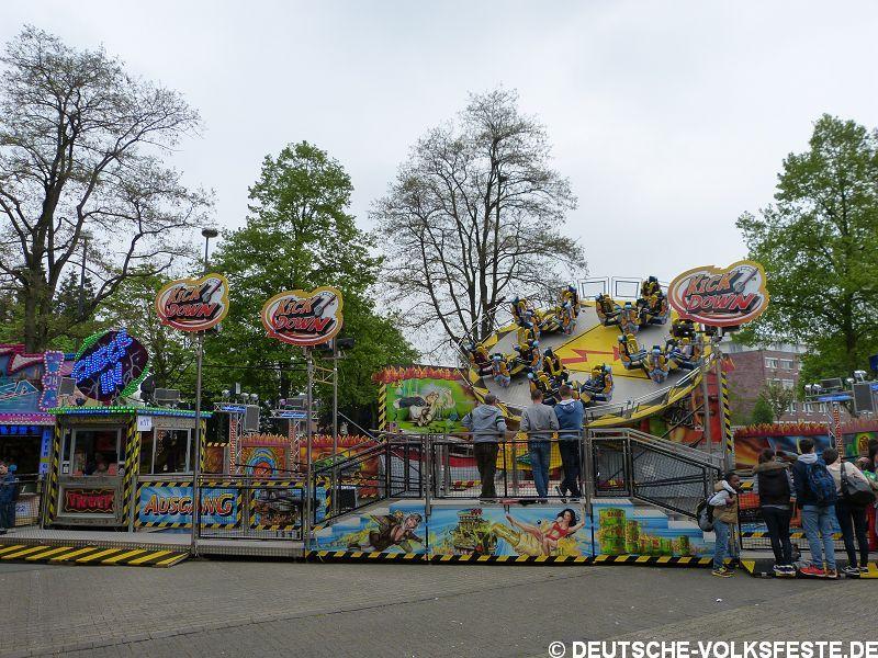 Langenfeld Frühjahrskirmes 2014
