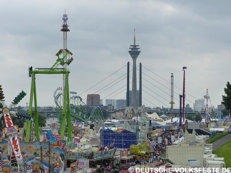 Düsseldorf Größte Kirmes am Rhein 2016