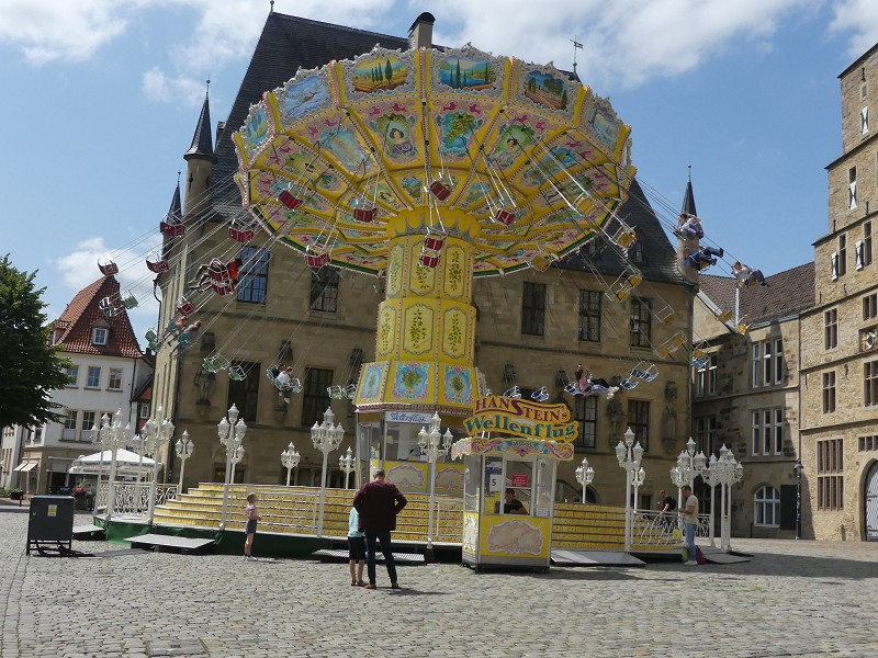 Osnabrück, Sommer in der Stadt